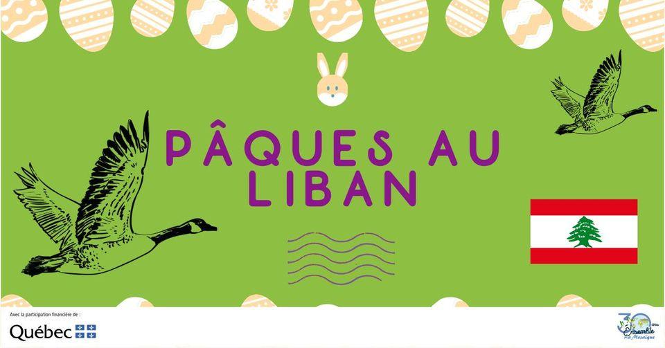 Pâques au Liban
